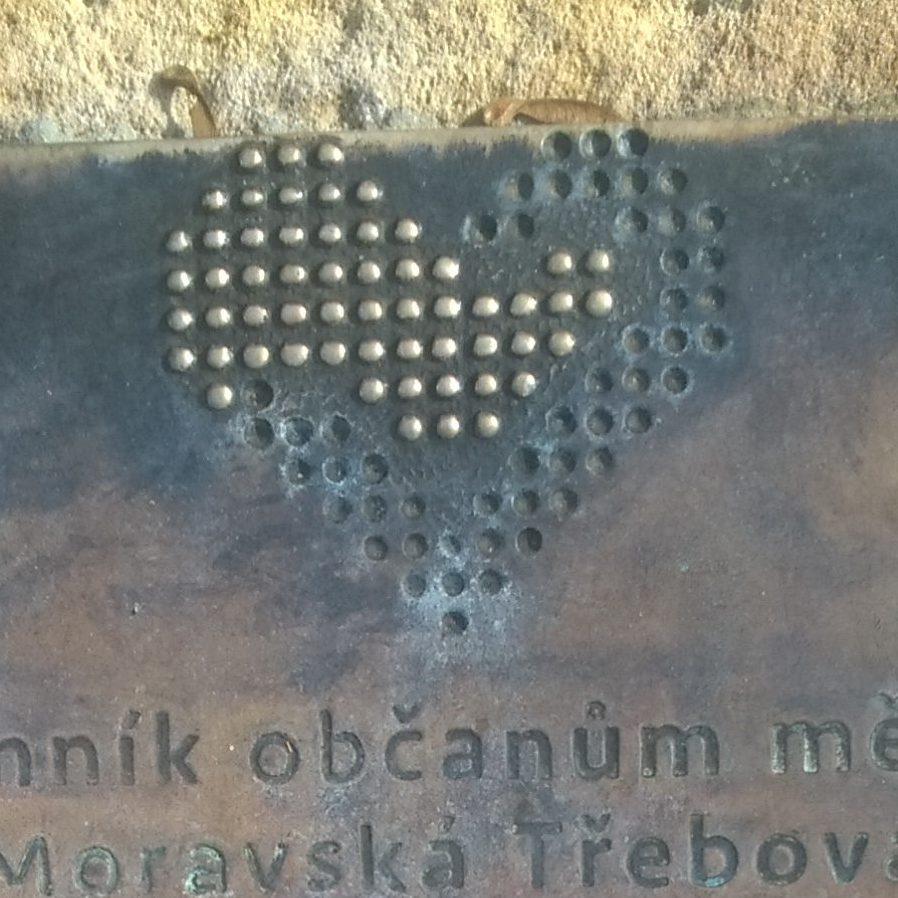 Pamětní deska obětem 1. SV v Moravské Třebové