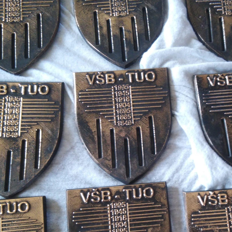 Výroční medaile VŠB