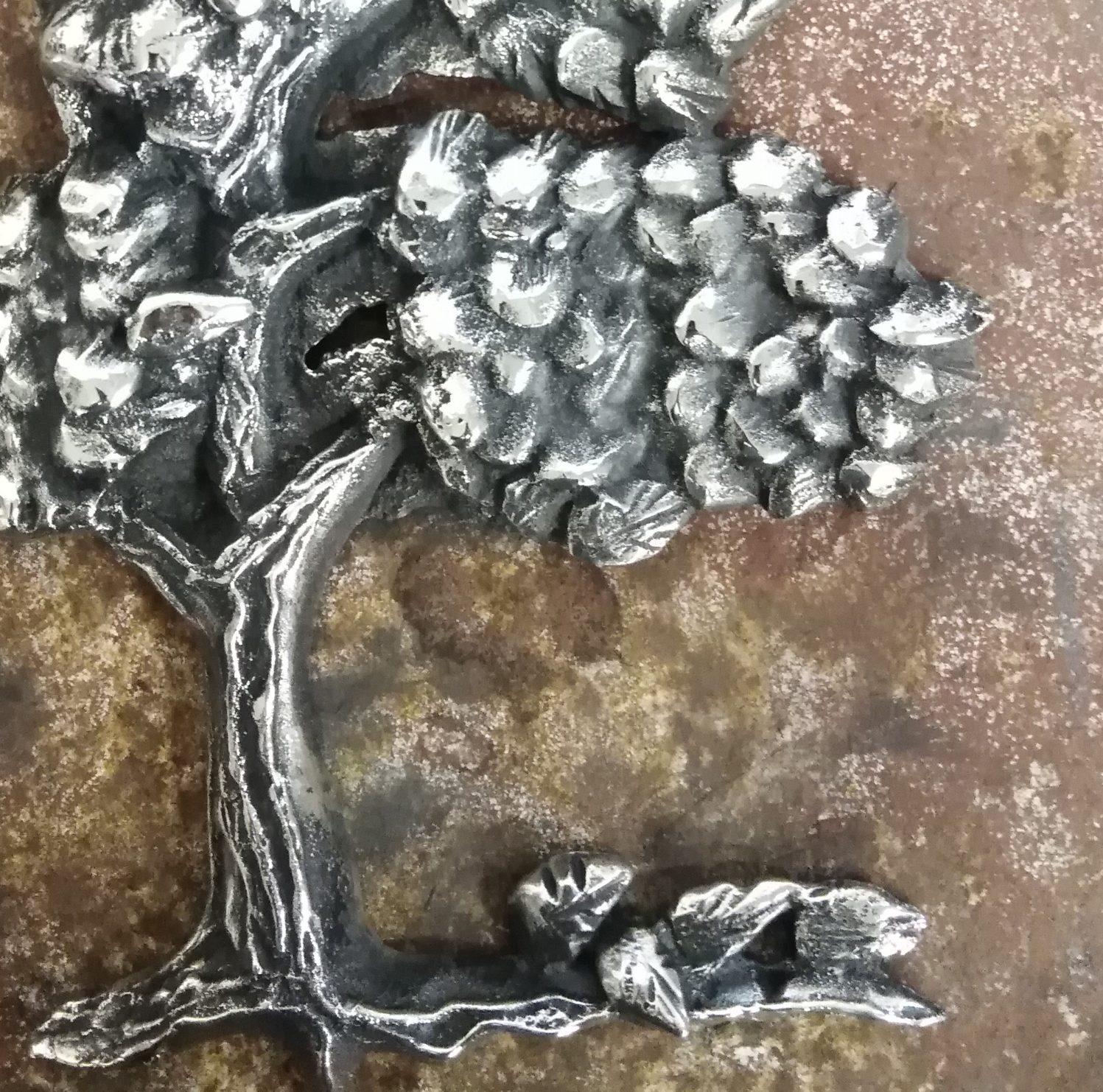Reliéf stromu